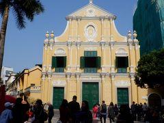 1587年に創建され、大がかりな修復を経て1997年11月23日に再オープンした聖ドミニコ教会です。観光客であふれてました。