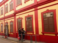 マカオ図書館はポルトガル建築が目に鮮やかでした。