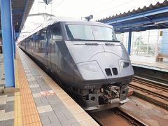 翌朝、延岡駅に向かいます。