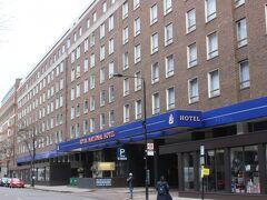 今回のホテルは大英博物館近くのホテル。 安いホテルだったのですが、意外にも立派なホテルでした。