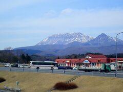 蒜山SAからの大山。  こんなに綺麗に見える日はなかなかありませんぞ!