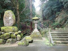 安来の札所の清水寺。  やっぱり石段がありました。  段数は333。しんどいはずです。