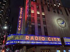 『ラジオ シティ ミュージックホール』