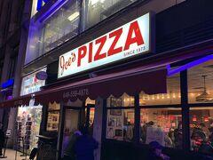 『Joe's PIZZA』 ここのピザはお気に入りです。 NYに来ると毎回食べに来ます。