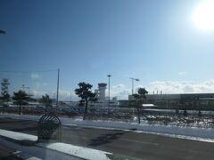 10分ほどで空港に着きました。
