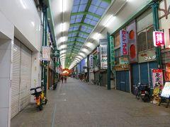 尾道本通り商店街へ・・・ お店は殆どが閉店していて人通りが全くないぞ!!