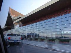 18:15 ガザ空港に到着