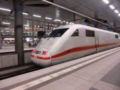 初めてのベルリン。中央駅に到着。