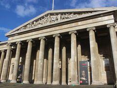 ホテルを出て、まずは大英博物館へ。 昨日9時から開館とあったのですが、9時から開館しているのはショップだけで、展示室は10時から。 遅いなあ。 ここで1時間時間を無駄にしたくないので、大英博物館はあきらめます。