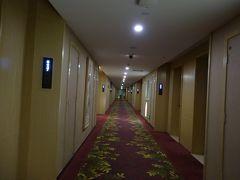 22:30 空港近くのベスト悦航ホテル着 滴滴で8元  フロントは英語が通じませんでした。