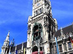街の中心部にある「マリエン広場」と広場に面して建つ威風堂々とした新市庁舎はミュンヘンのランドマークとしてガイドブックや観光ポスターでもお馴染みですね。