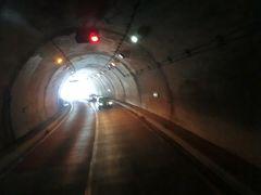 12:23 新島々から53分。 上高地への登竜門だった'釜トンネル'に入ります。