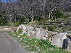 勝山御殿二の丸の石垣