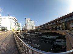 おはようございます。  いつもより明らかに人がいない仙台駅です。お天気は申し分ないのですが・・・