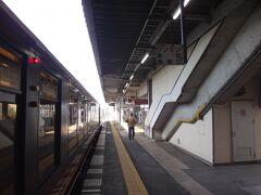 古川。  新幹線から少し乗り換え客があった。通常はここで11分停車なので古川で遅れは取り戻せそう。