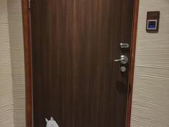ムーミンルームの入り口 ムーミンのイラストがあるのですぐわかります!