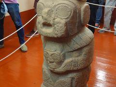 紀元前1600年~紀元400年ころに栄えたプカラ文化の品が展示されている博物館に入りました。土器や石の彫刻がありましたが、そうなんだ~…という程度でした。すみません。
