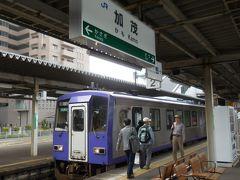 JR大和路線で終点の加茂駅へ。加茂から大阪の間は直通快速電車がありますが、ここから先は単線の非電化区間。