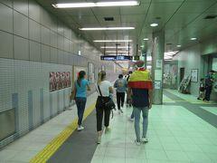 試合を終えて和田岬駅に向かいます。駅に向かう途中にスペインの国旗を掲げた外国人をけっこう見かけました。イニエスタ、シャビ高架でしょうか。