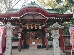駒繋神社に参拝