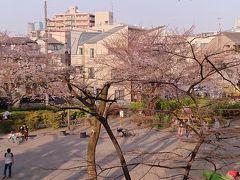 駒繋神社のお隣の駒繋公園