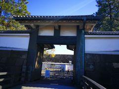 北桔橋門から入りました。