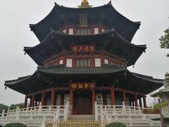 少し落ち着いた所でまたバスに乗り「寒山寺」へ。寒山寺に入る前にその隣にあった「梵音閣」を見てきました。と言うか寒山寺の入り口が分からず寄ってみたけどみたいな感覚でしたが(^^ゞ