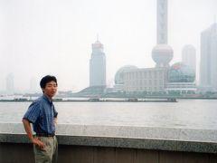 ◆当時  2000年当時は、浦東地区はまだ高層ビル群が少なかった