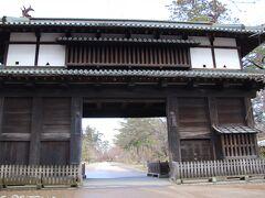 弘前城 三の丸東門
