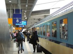 プラハから列車でベルリンに到着