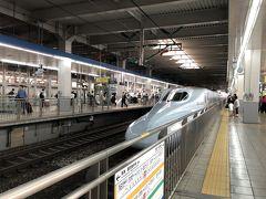 天草は何度も訪れていますが、列車の旅は初めて。 そして、プライベートでは初めての九州新幹線!