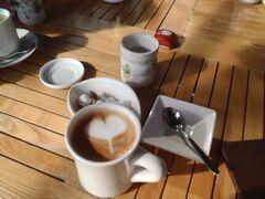 茶院で一休み。