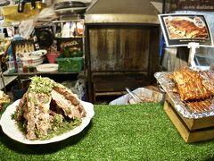 【ラチャダー鉄道市場 Train Night Market Ratchada】  その隣の肉も........