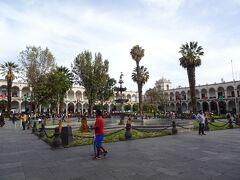 リマ~ナスカ~クスコ~プーノと来ましたが、アレキパのアルマス広場が一番好きかもしれないです。 活気とのどかさ、どちらも感じるしカテドラルはかっこいいし。