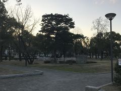 散歩を続けます。前から気になっていた、堺の公園に来ました。