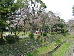 松の参道にある大鳥居の手前の祓橋から見た野見宿禰神社の方向です.丁度,新人巫女さんの研修でしょうか?宮司さんらしき人が数人の巫女さんを引率していました.