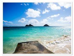 ラニカイビーチ独り占めの絶景