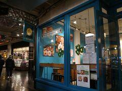 【エイミーズブレッド】 まずは、珈琲タイム。 こちらの隣に、ブラウニーが美味しい『ファットウィッチベーカリー』があります。