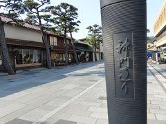 先に神門通りを歩きます。