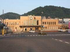 小樽市稲穂。 5時16分、駅に着きました。