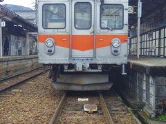 全線乗って、同じくこちらの行き止まり線区の終着駅です。ココから先は2009年(平成21年)11月1日に廃止されました。