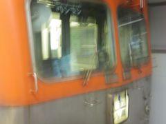 石川線の復路は踏切の音の違いを楽しみつつ、新西金沢駅で下車してJRに乗り換えて、行き止まり駅だった北鉄金沢駅から浅野川線のワンマンカーに乗りました。