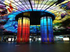 世界で2番目に美しいといわれる「美麗島駅」。  確かに納得の美しさ。