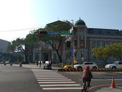 国立台湾文学館です 建物が大阪の中央公会堂っぽい感じがしました