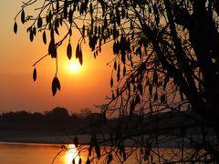 メコン川にてサンセット