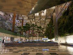 オンタイムでチャンギ空港到着です。