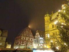 まだ少し雪が降っていてとても寒いですが「夜警ツアー」を見に来ました。