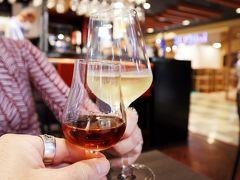 最近の定番、ワインで乾杯~♪