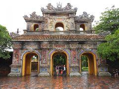 前回の旅行記から、阮朝王宮を3時間ほどかけてまわってから