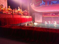 17:20 タンロン水上人形劇鑑賞 ベトナムの伝統楽器の生演奏によってスタートします